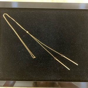 Jewelry - NWT ADJUSTABLE GOLD TONE TASSLE NECKLACE